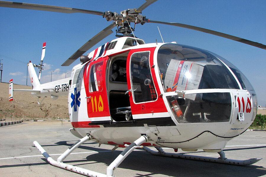 ضرورت استقرار اورژانس هوایی در استان مرکزی