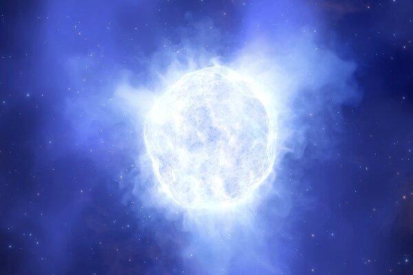 ستاره ای 2.5 میلیون بار درخشان تر از خورشید ناپدید شده است!