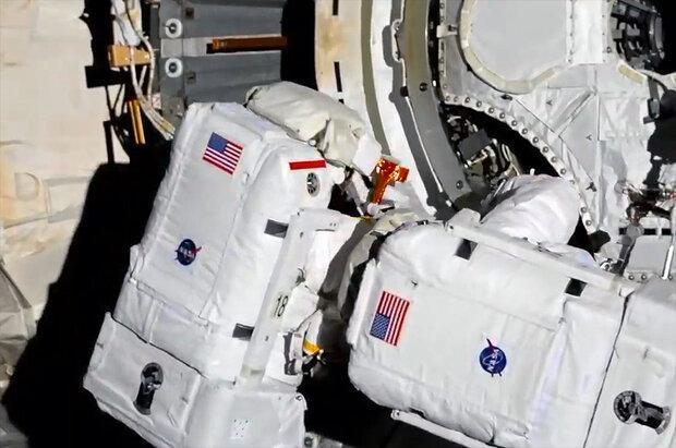 راهپیمایی فضایی 5 ساعته فضانورد ناسا قبل از بازگشت به زمین