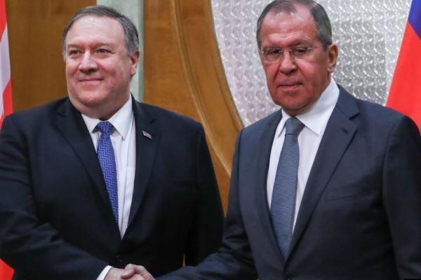لاوروف و پمپئو درباره ایران مصاحبه کردند